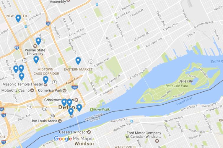 MCS map